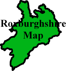 Roxburghshire map