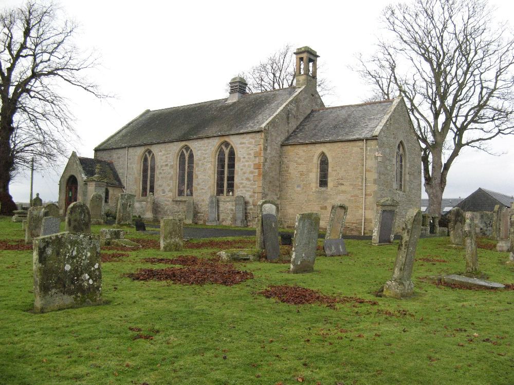 Ednam Parish Church.