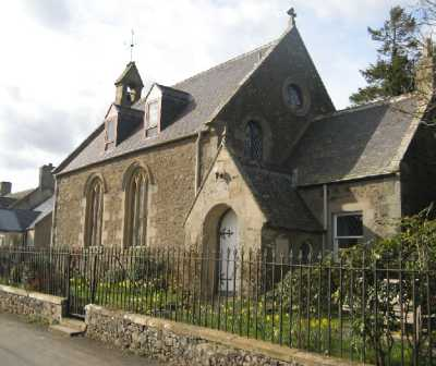 The former Nenthorn Parish Church